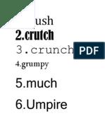 Font Exersize