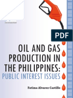 Oil and Gas Production in the Philippines 091412