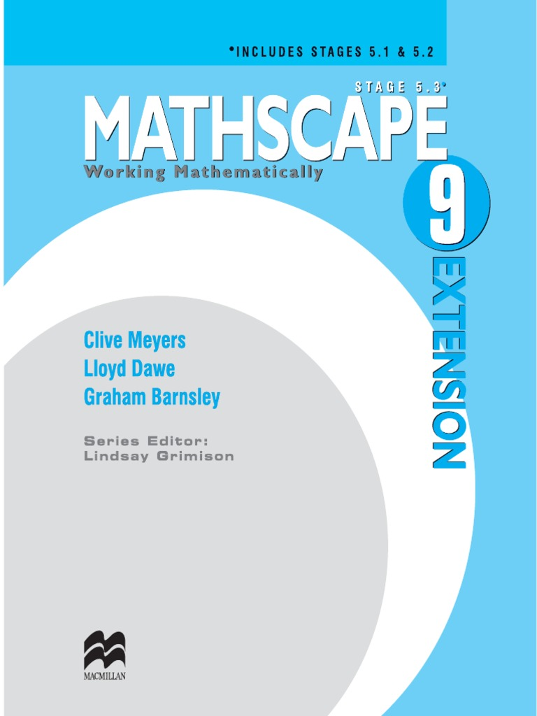 Mathscape 9 Extention | Significant Figures | Fraction (Mathematics)