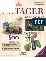 L'ABC Du Potager - Geste Par Geste