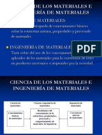 Introducción a ingenieria de materiales