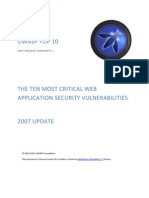 OWASP Web Security Guide