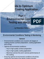 Guide to Optimum Marine Coating Application - Part 1 - Environmental Conditions Testing and Monitoring