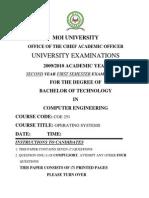 Coe 251 Exam 2009
