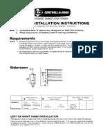 B&D Control a Door Manual MPC1