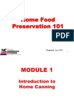 Home Food Preservation Agents