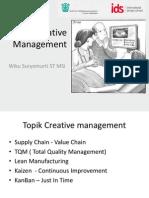 1. Creative Management b