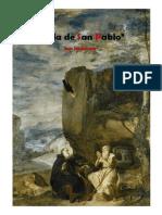 Vida de San Pablo, el primer ermitaño de San Jerónimo
