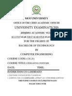 Coe 251 Exams 2010