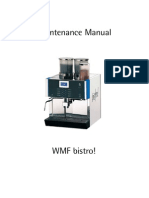 maintenance complete bistro valve coffee rh scribd com WMF Coffee Machine WMF Coffee Machine