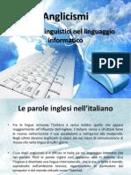Anglicismi