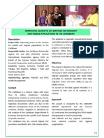 Programme Fact Sheet Caribbean HIV
