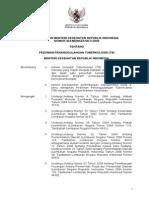 KMK No. 364 Ttg Pedoman Penanggulangan Tuberkolosis (TB)