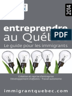 Guide Entreprendre Au Quebec 2013