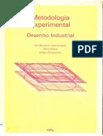 Metodologia Experimental Desenho Industrial - Bonsiepe