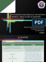 Wheel Tractor Scraper