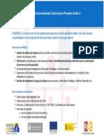 Información servicio SILPES