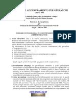 ABA Manuale Di Addestramento Per Operatori (Da Ippocrates)