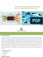 Global Advanced Driver Assistance Systems (ADAS) Market