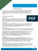 Video Thema Medikamente Gegen Den Leistungsdruck Manuskript PDF