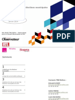 Strasbourg - Intentions de vote aux élections municipales de 2014.pptx