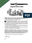 Living the Life of Faith 21-27 Jun 2003