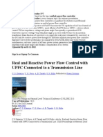 Unified Power Flow Controller PPT