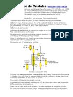 Probador de Cristales Con Transistor