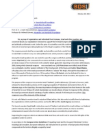 131028_Open Letter 3. Israel Congress _CEOs Foundations