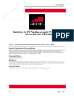 IR.34-V9.1 - Guidelines for IPX Provider Networks (Previously Inter-Service Provider IP Backbone Guidelines)