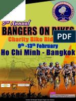 Bangers on Bikes Charity Ride 2014