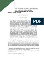 Ployhart & Holtz (2i008) - Adverse Impact