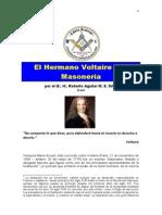 El hermano Voltaire y la masonería