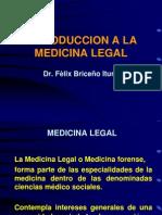 Clase 1.1 - Historia de La Medicina Legal