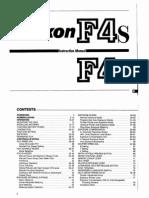 Nikon F4 Technical Guide