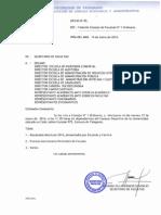 Citación Consejo  Nº 1 Ordinario 2014