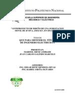 Anteproyecto de Diseno de Una Subestacion Movil de 45 Mva, 230-223 Kv, En Sf6 de Lfc
