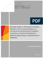 20140115 Informe RD Renovables