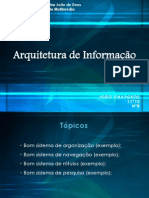 arquitetura de informao