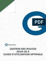 Gestion Des Polices Sous MacOSX