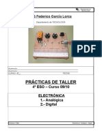 Practicas Taller - Electronica Analogica-digital