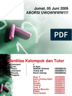 KELOMPOK-3(Aborsi Pemicu 2 Blok 6 Agama)