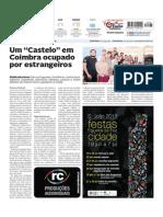 Alunos Erasmus ocupam castelo na cidade de Coimbra