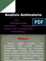 Analisis Antimalaria Kel 3 (2)