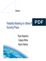 5 Reliability Modeling for Utilities Projects –Scouting Phase -- Shell