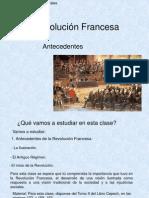 Antecedentes Revolución Francesa