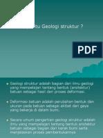 2. PENGERTIAN GEOLOGI STRUKTUR