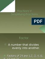 fractions v
