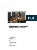 Administering Cisco Physical Security Operations Manager, Release 6.1
