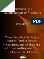 fractions xiii